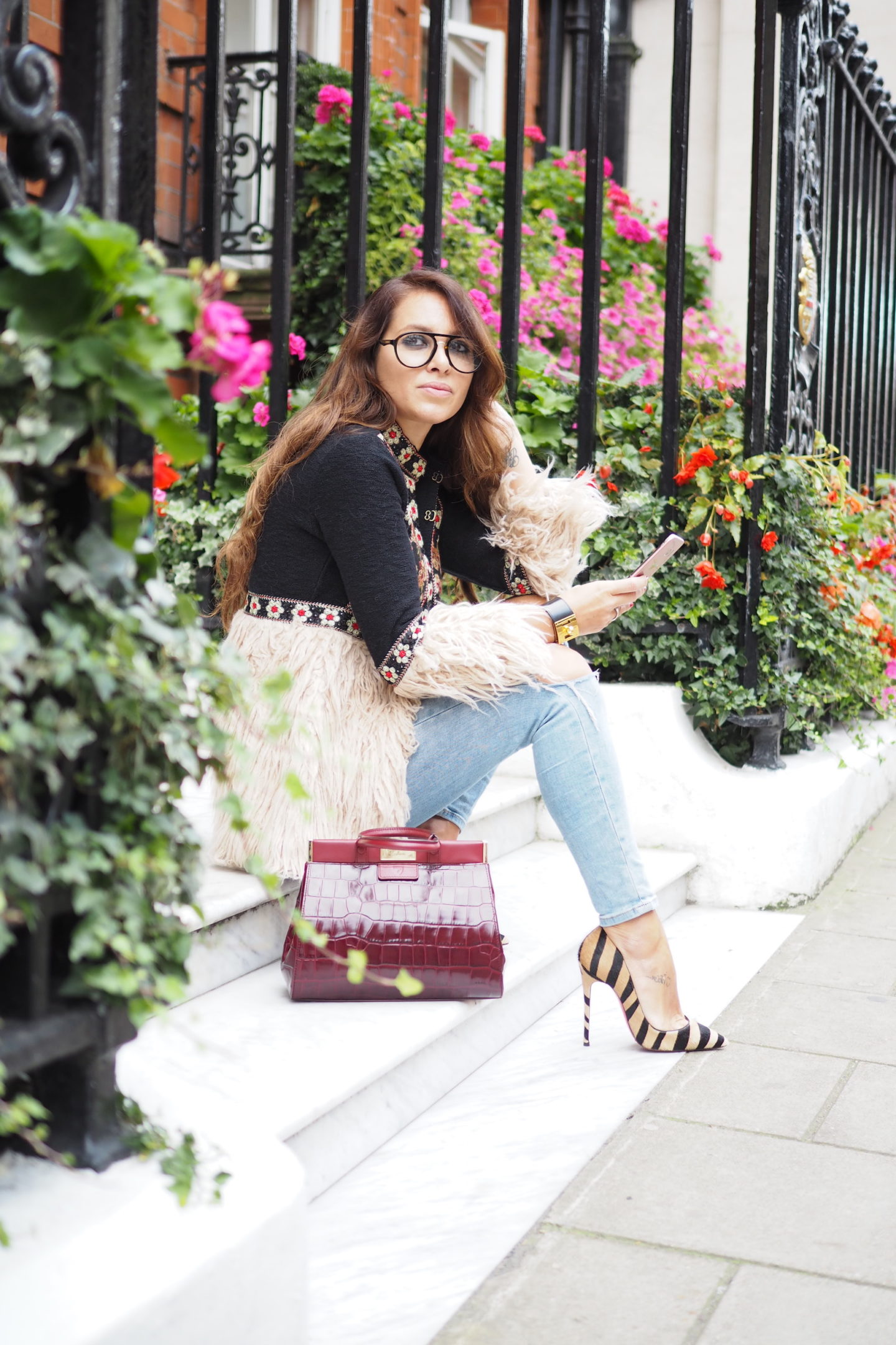 carrera sunglasses street style london fashion week