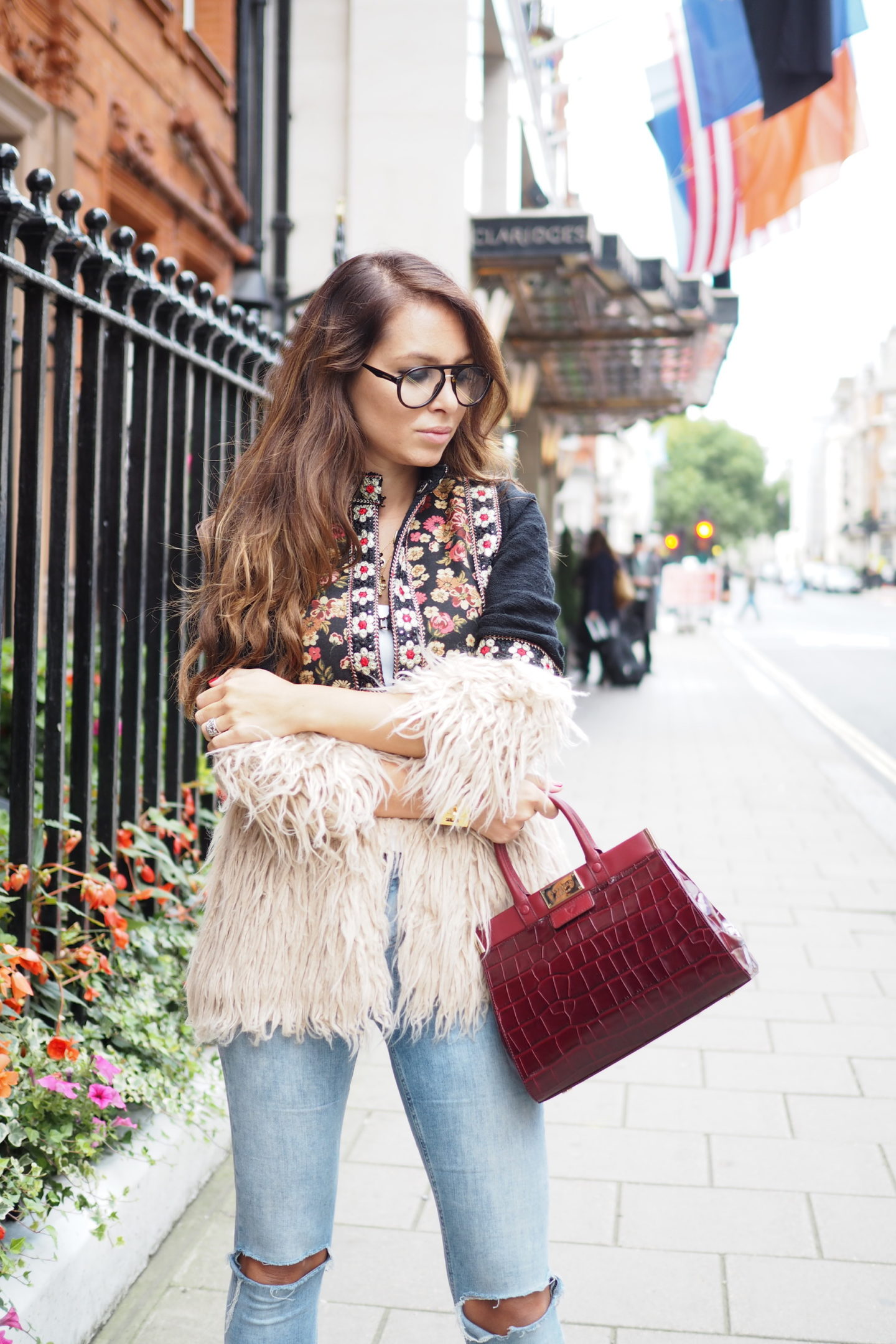 london street style fashion week trands aspinal of london handbag