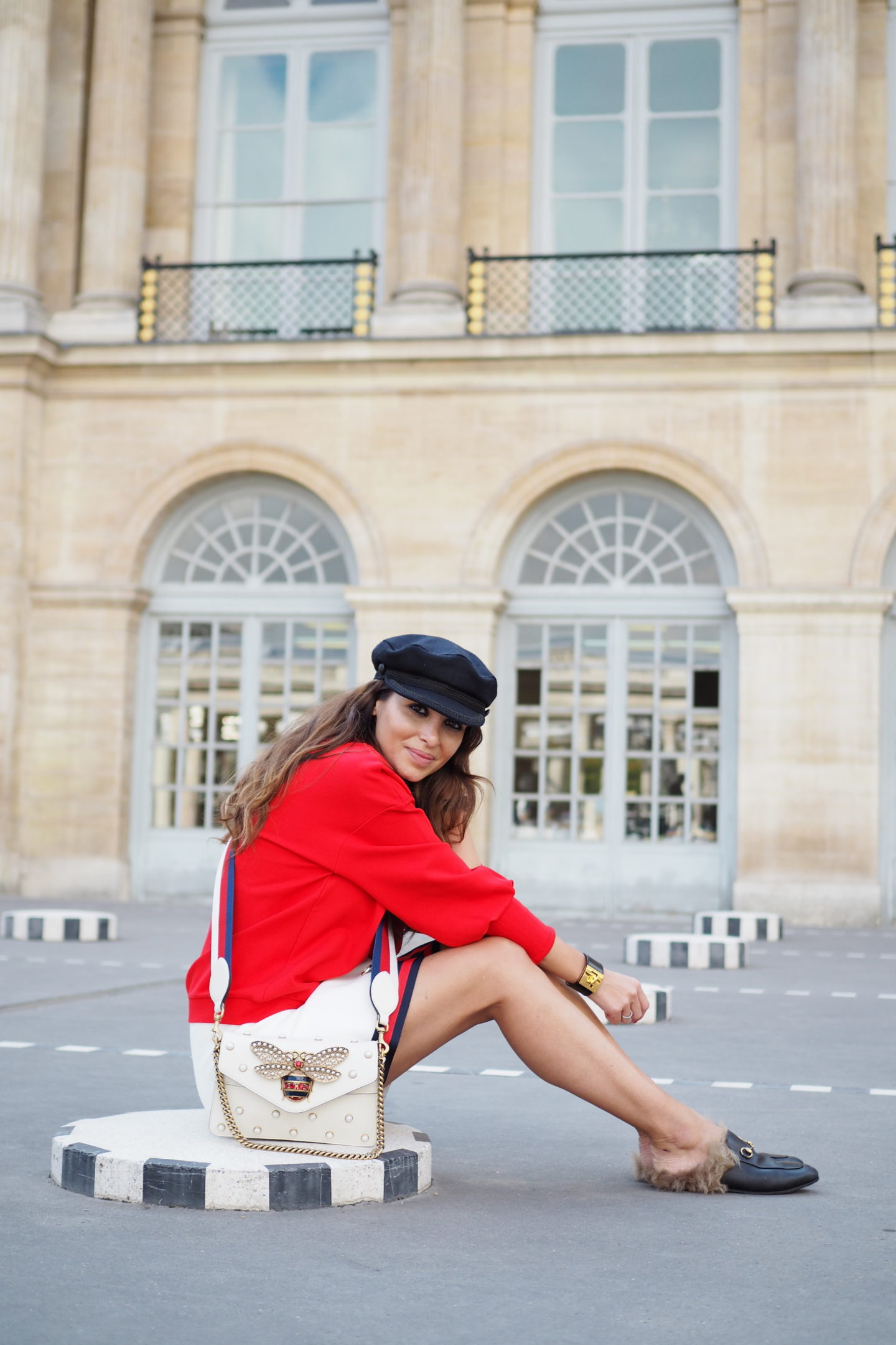 Paris Fashion Week wearing casual style
