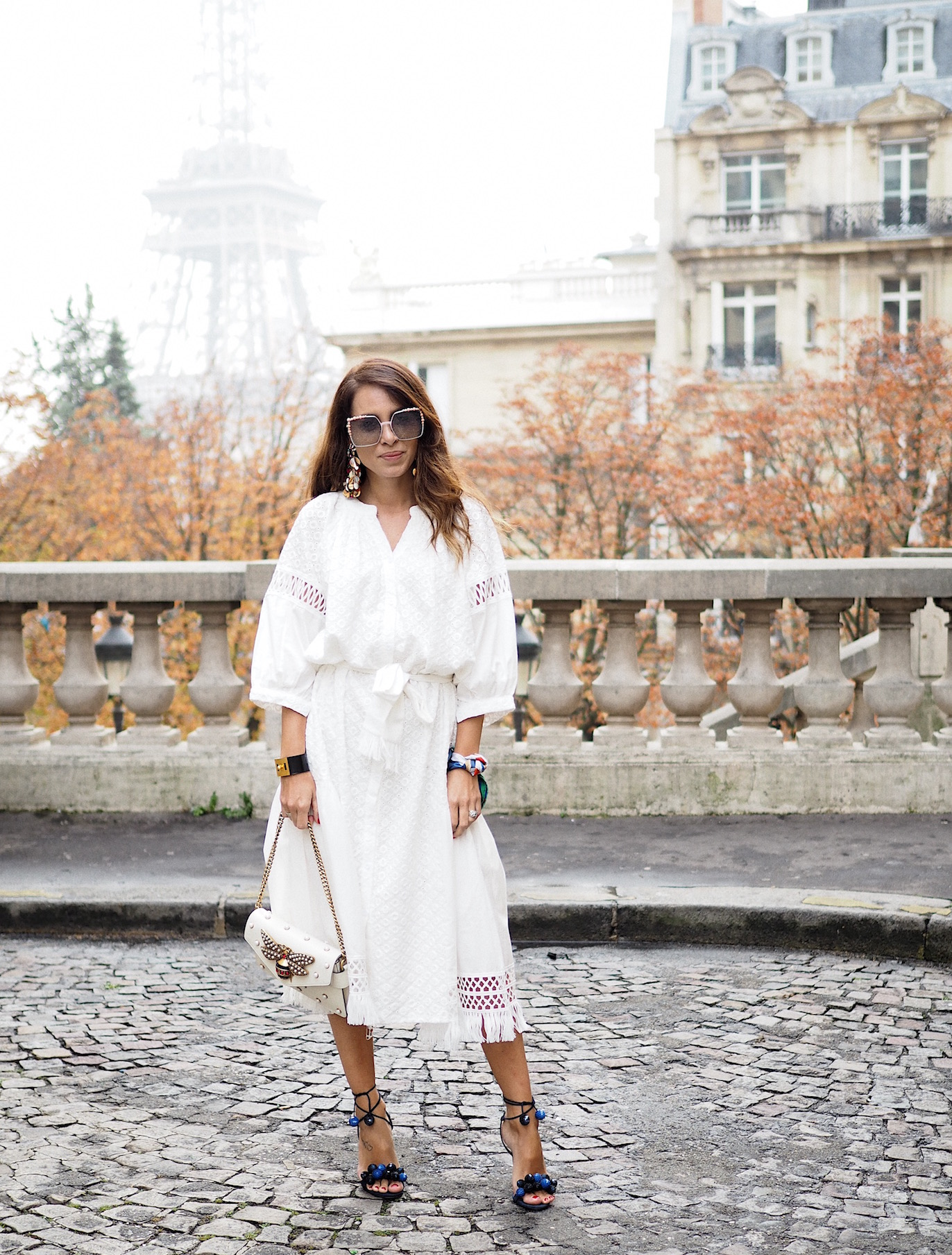 paris-fashion-week-street-style-storest-white-dress-gucci-bag-aquazzura-shoes