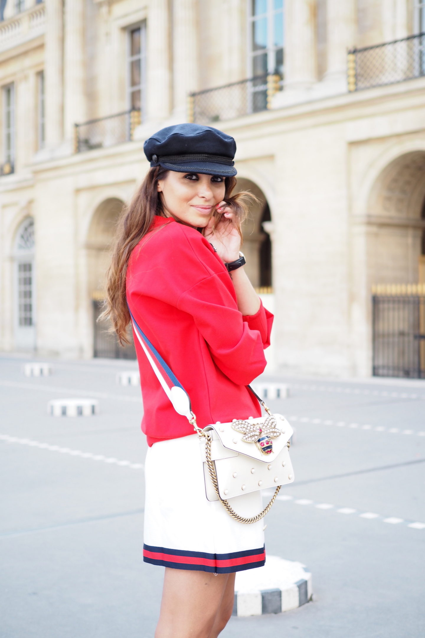 paris fashion week gucci street style