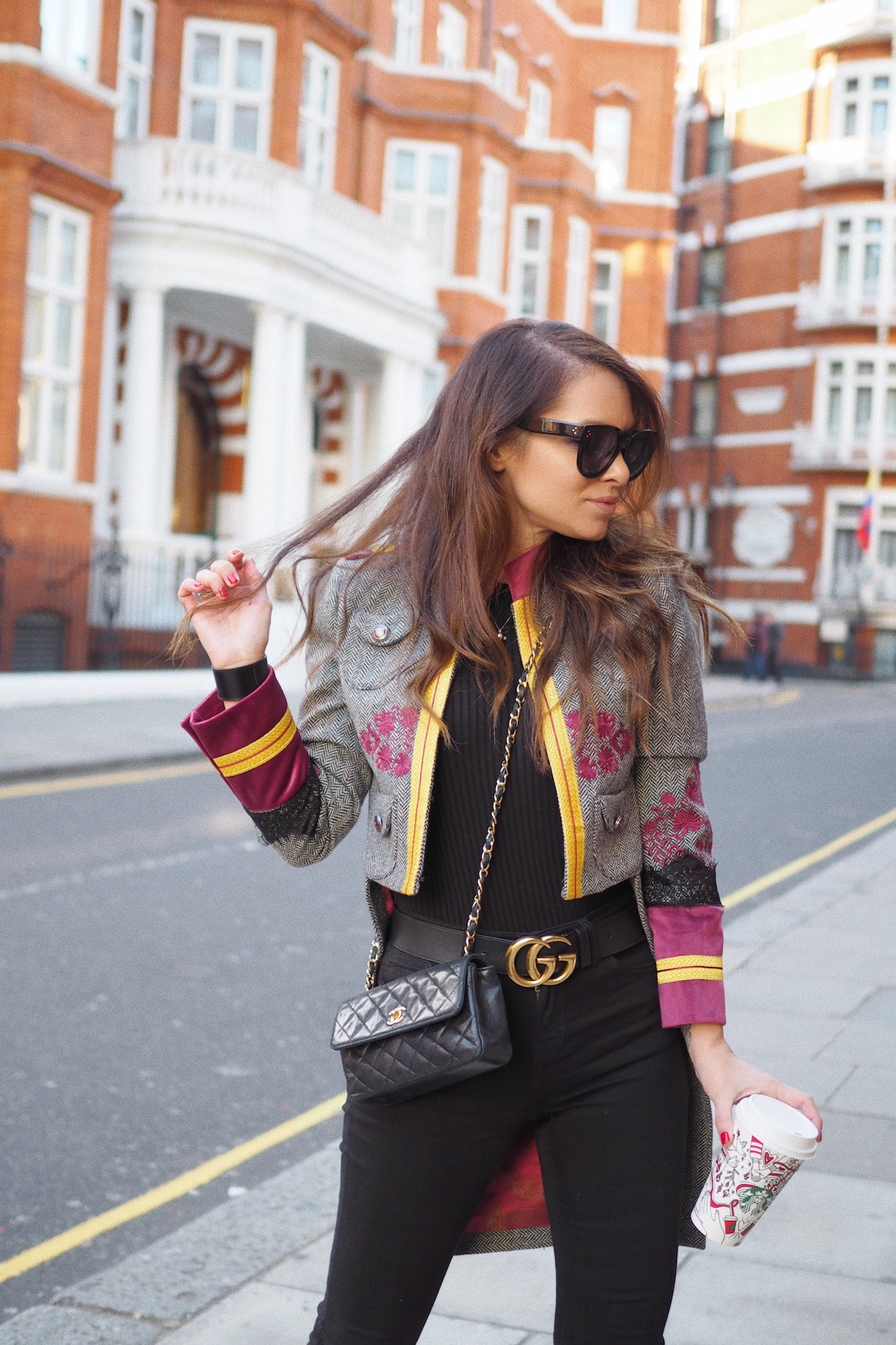 how to wear jacket london street style
