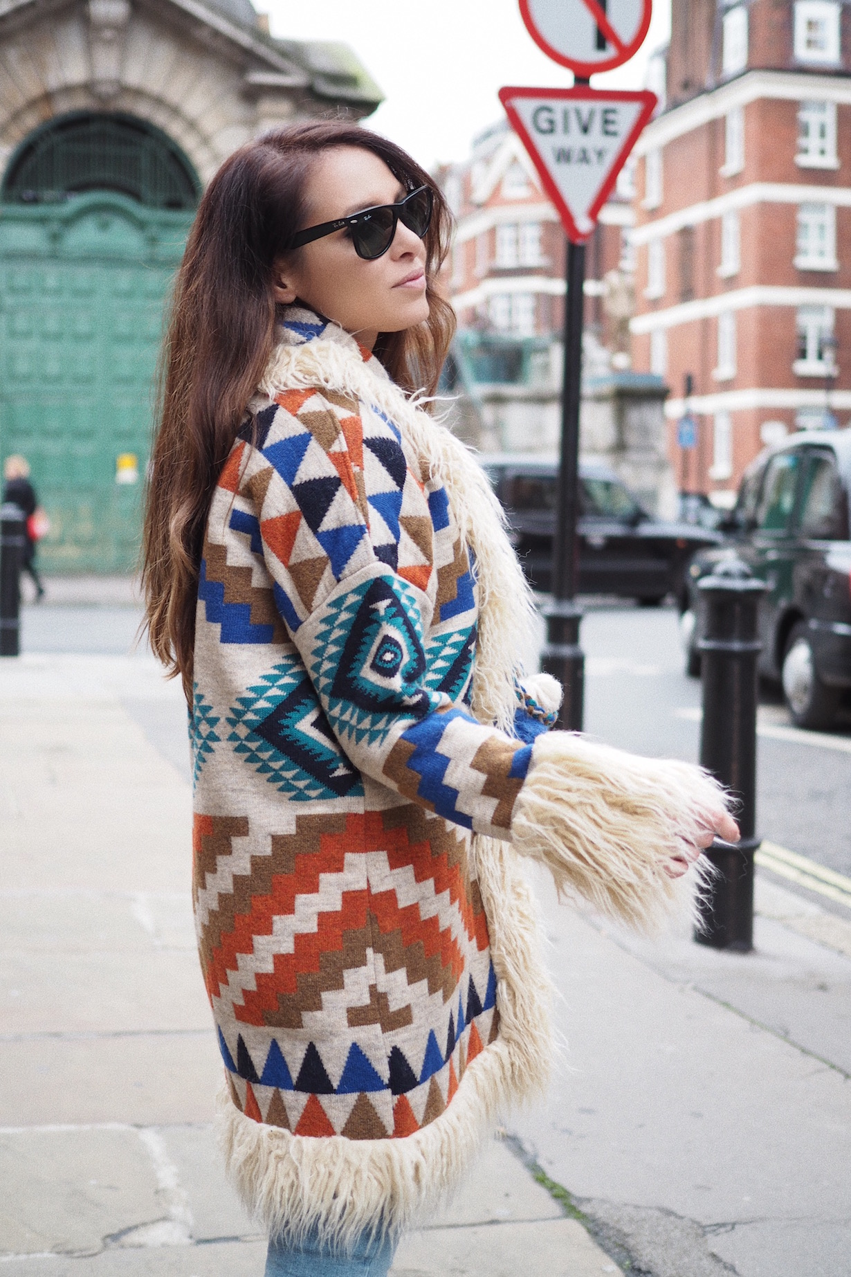 how to wear knitwear winter street style london uk