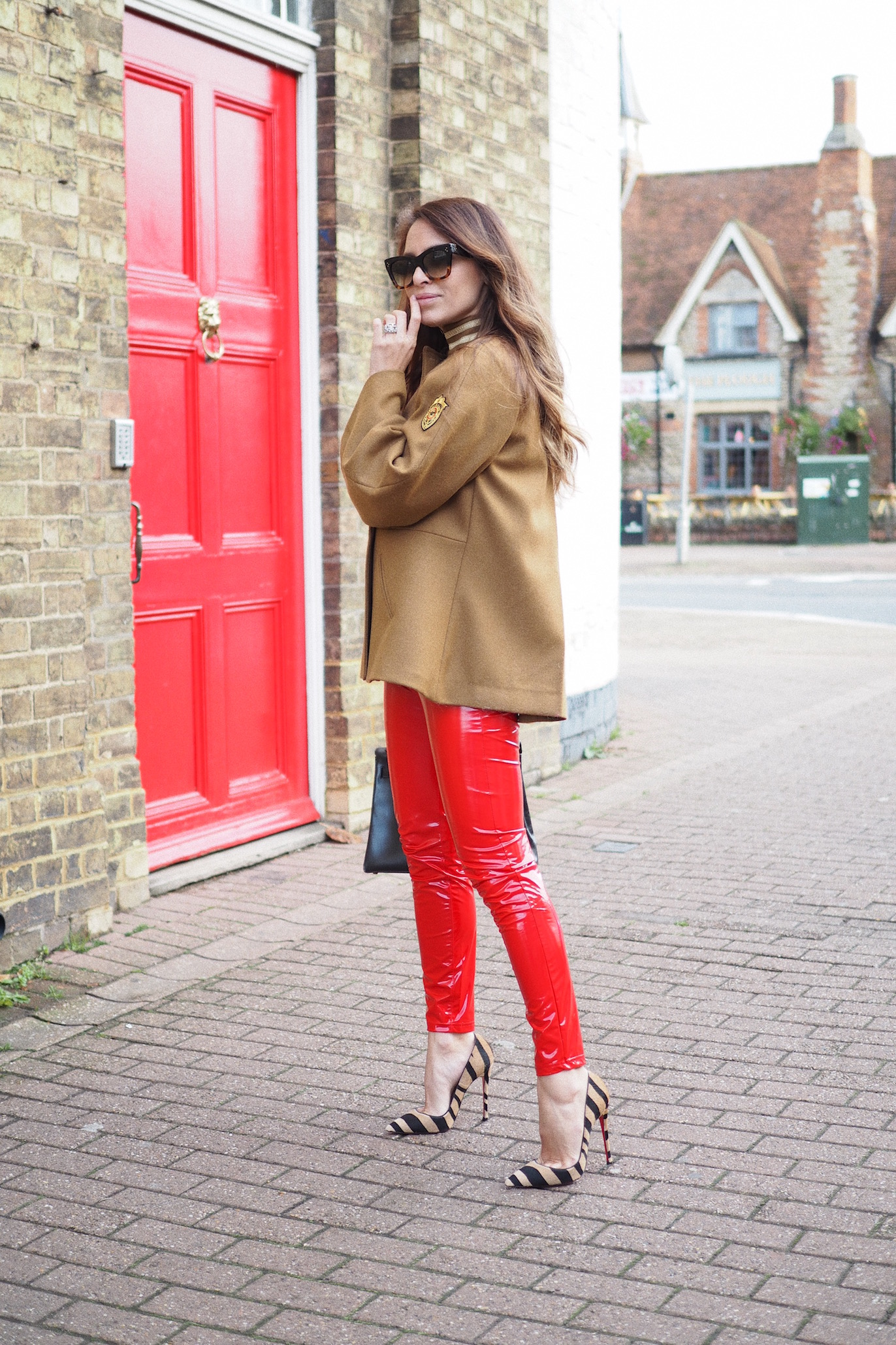 london street style fashion trends christian louboutin so kate shoes