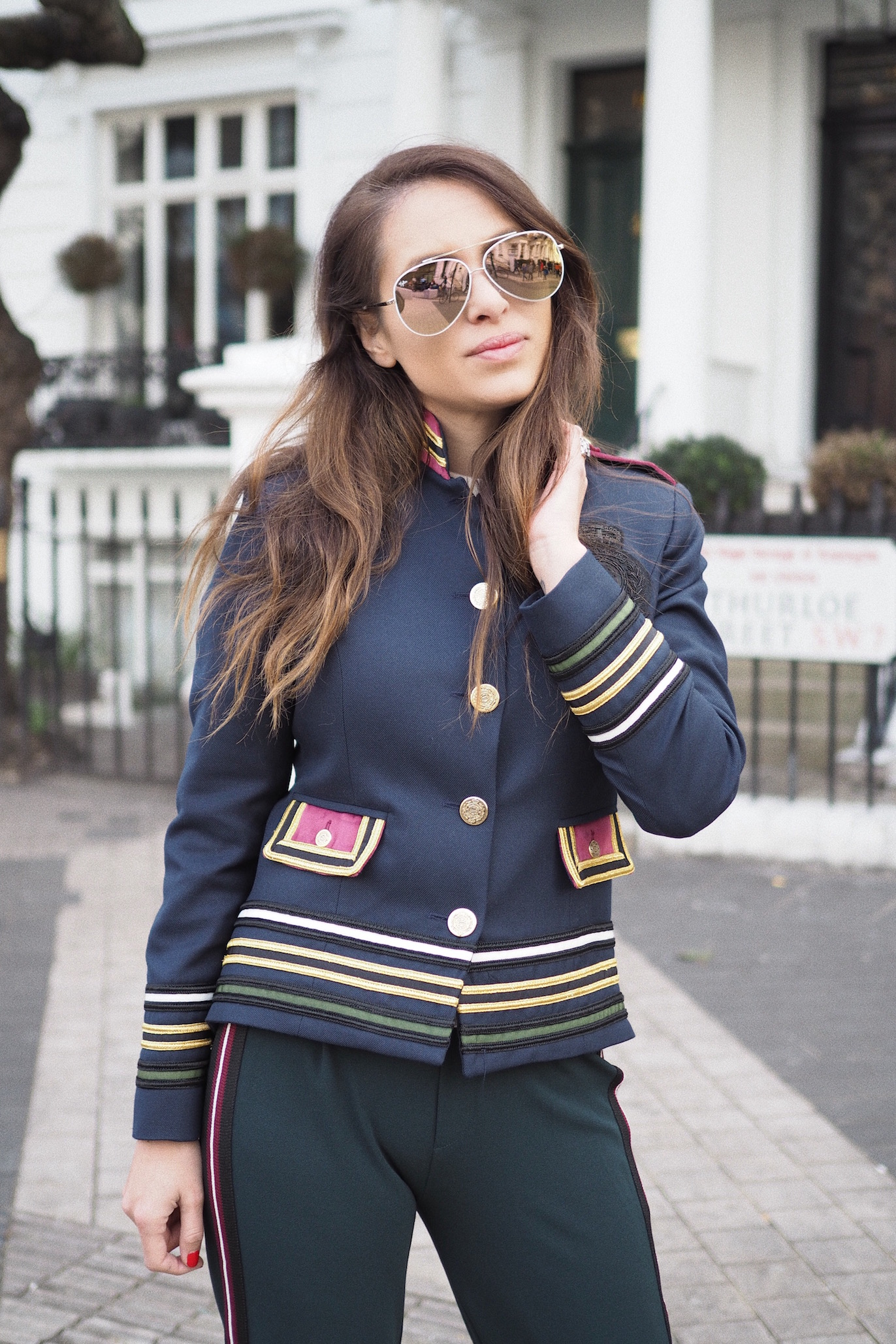 how to wear military jackets street style