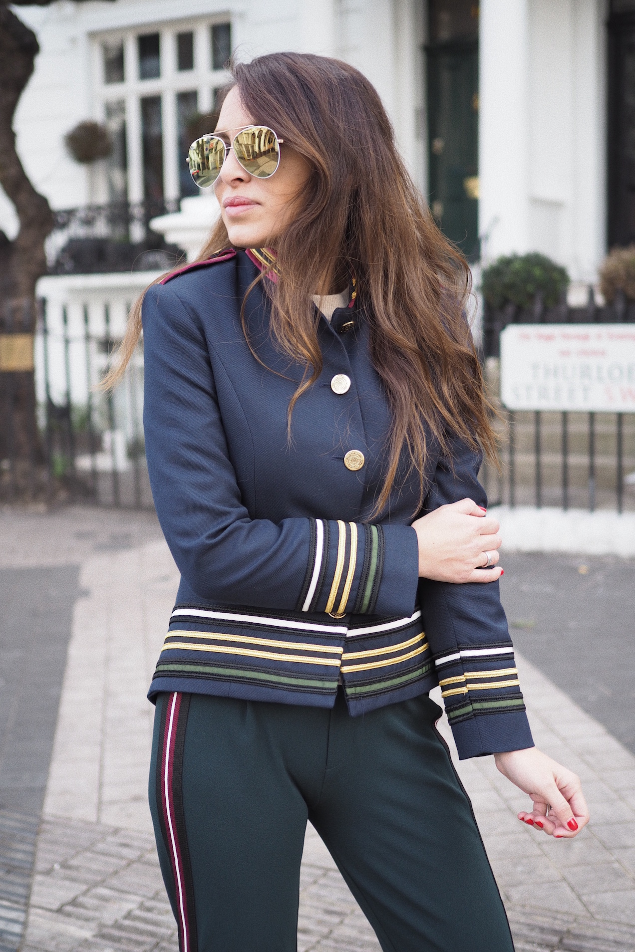 How to wear Military Style
