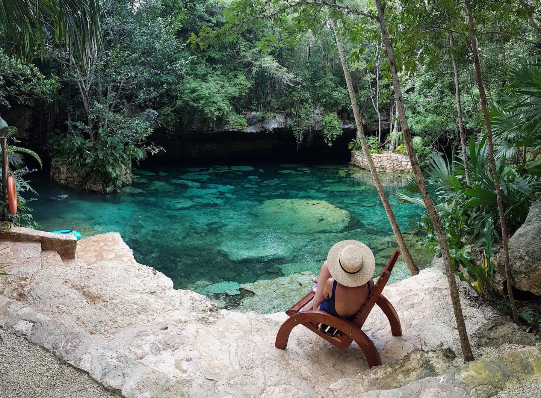 cenotes méxico riviera maya vacaciones viajes