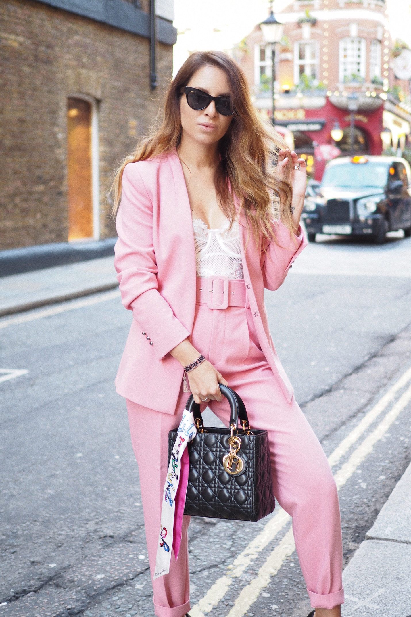 how to wear lace bodysuit house of CB LOndon street style