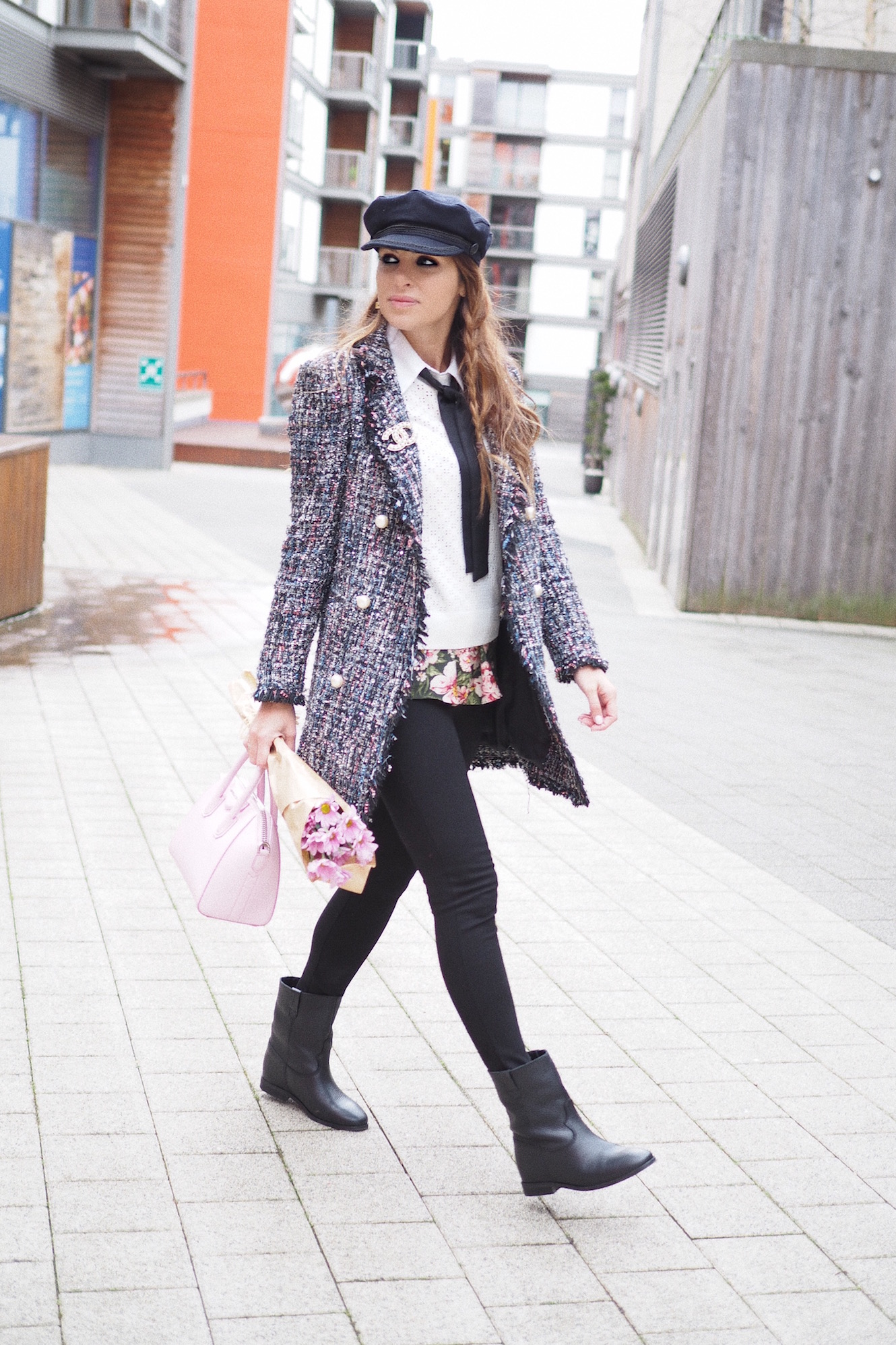 how to wear chic comfy style street style