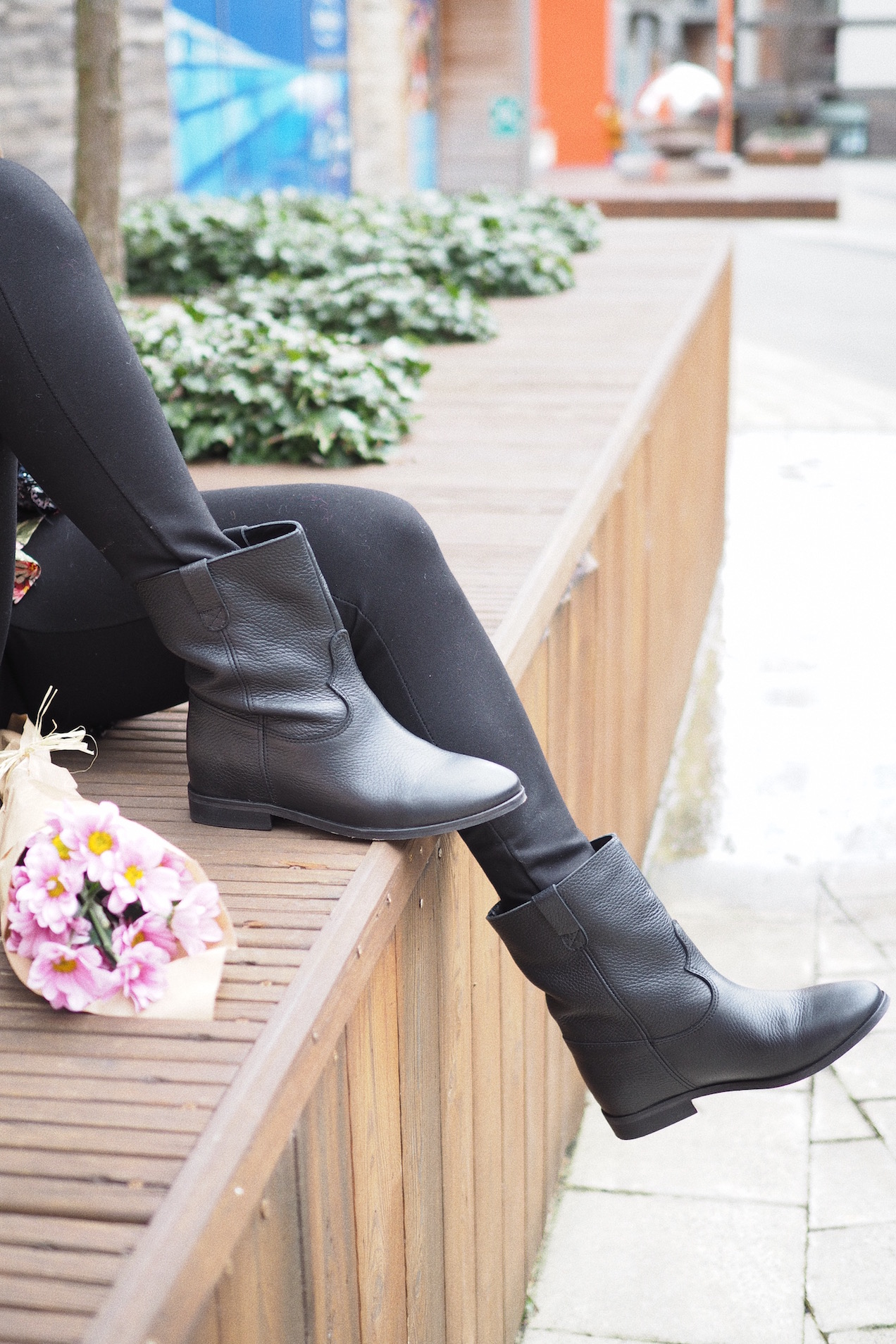 it shoes molly black boots street style