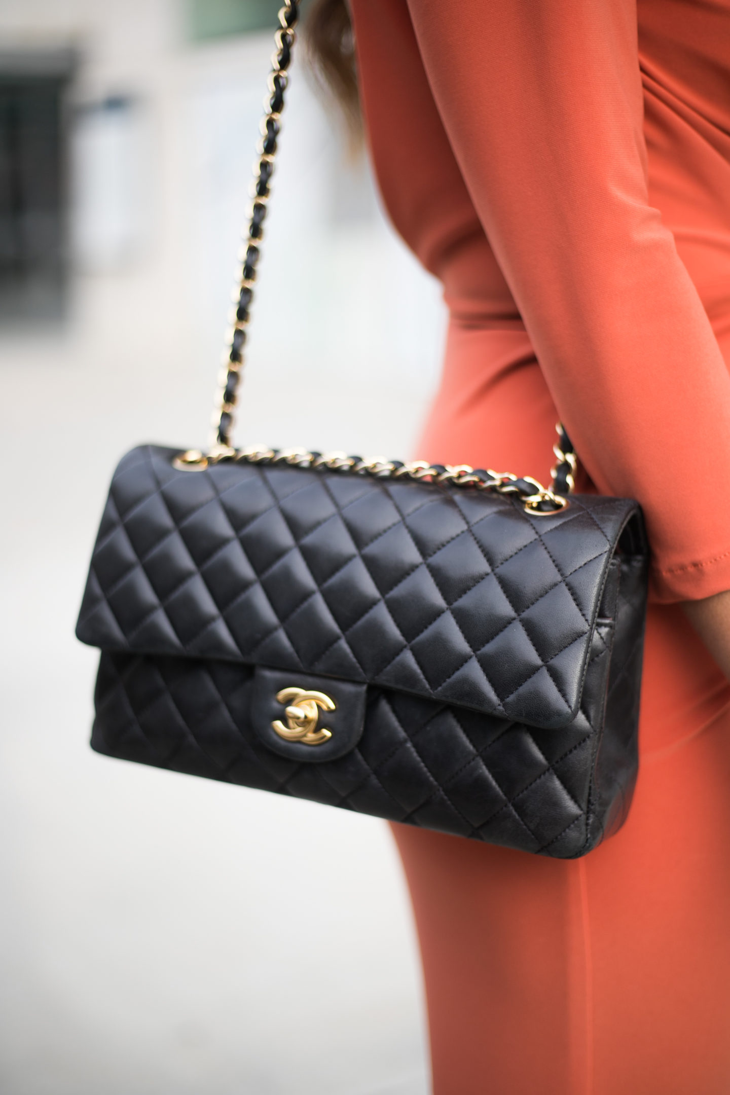 chanel street style fashion week