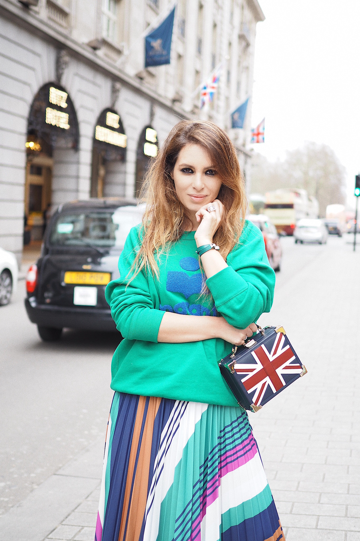 how to wear union jack london street style