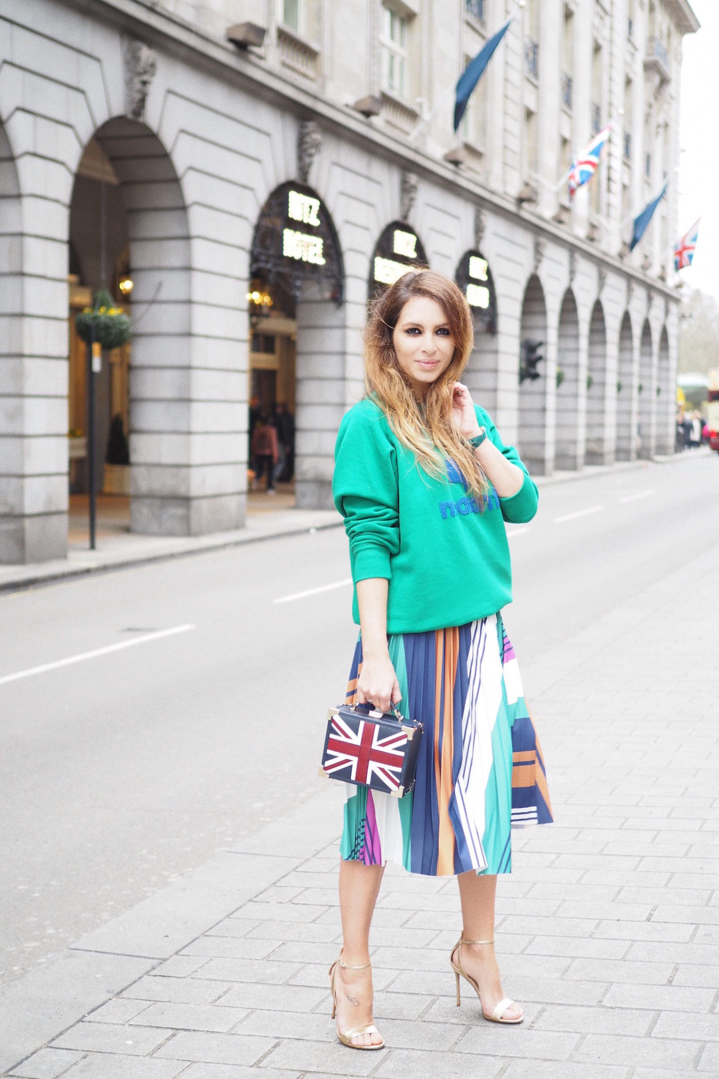 london street style union jack uk brit bloggers