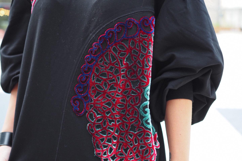 uterque sweater street style