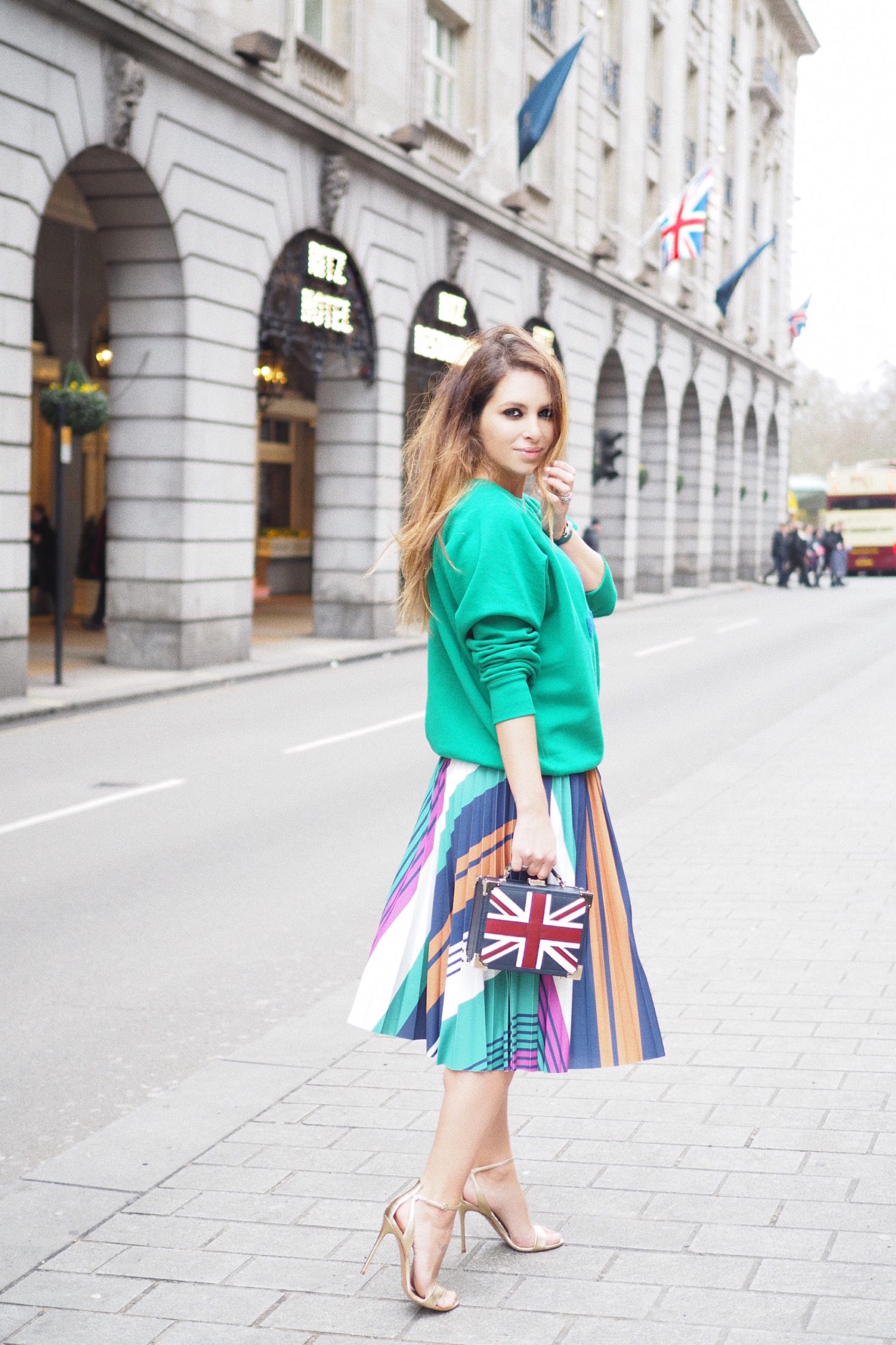 london street style union jack british fashion