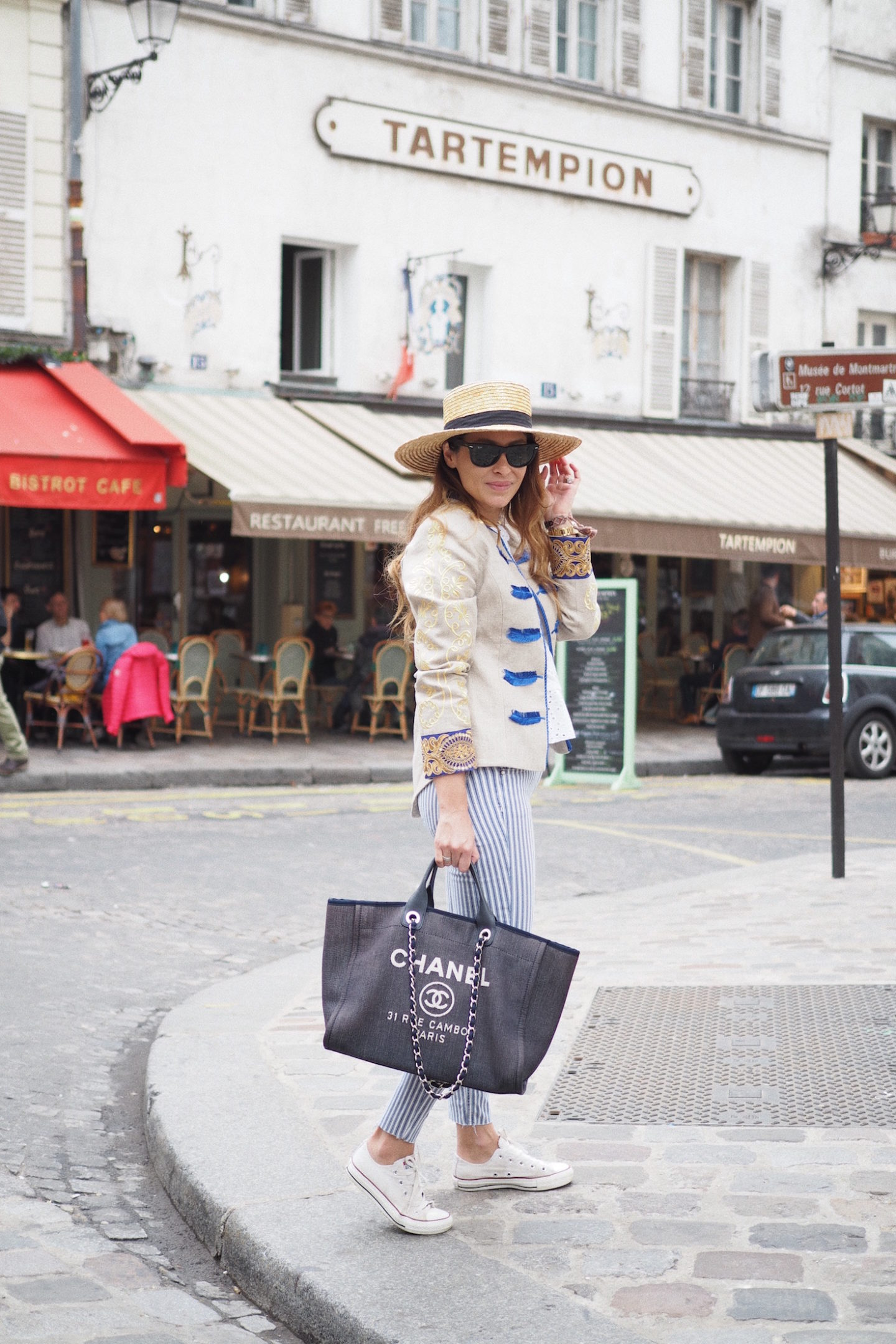 chanel bags paris street style