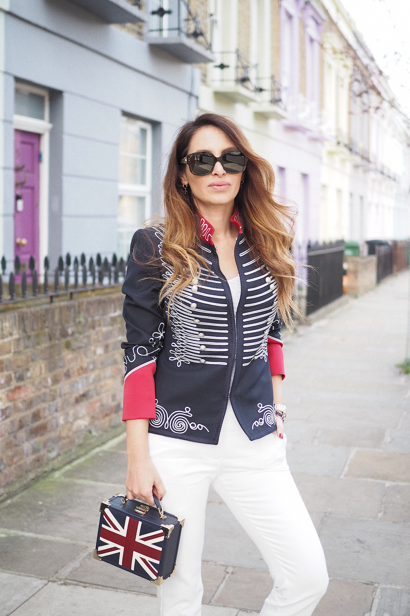 london street style brit bloggers the extreme collection military jackets