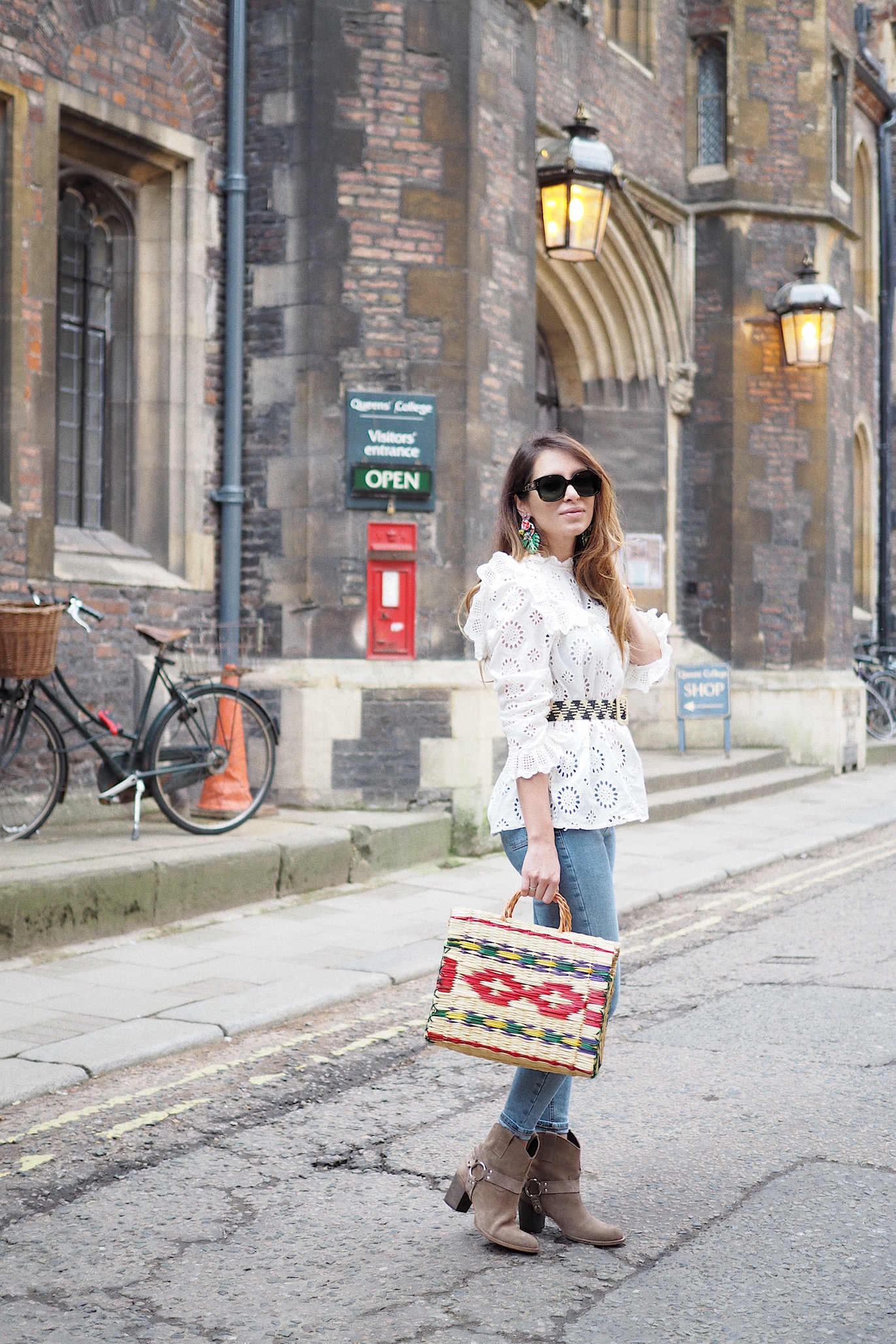 how to wear jaime jeans topshop uk street style