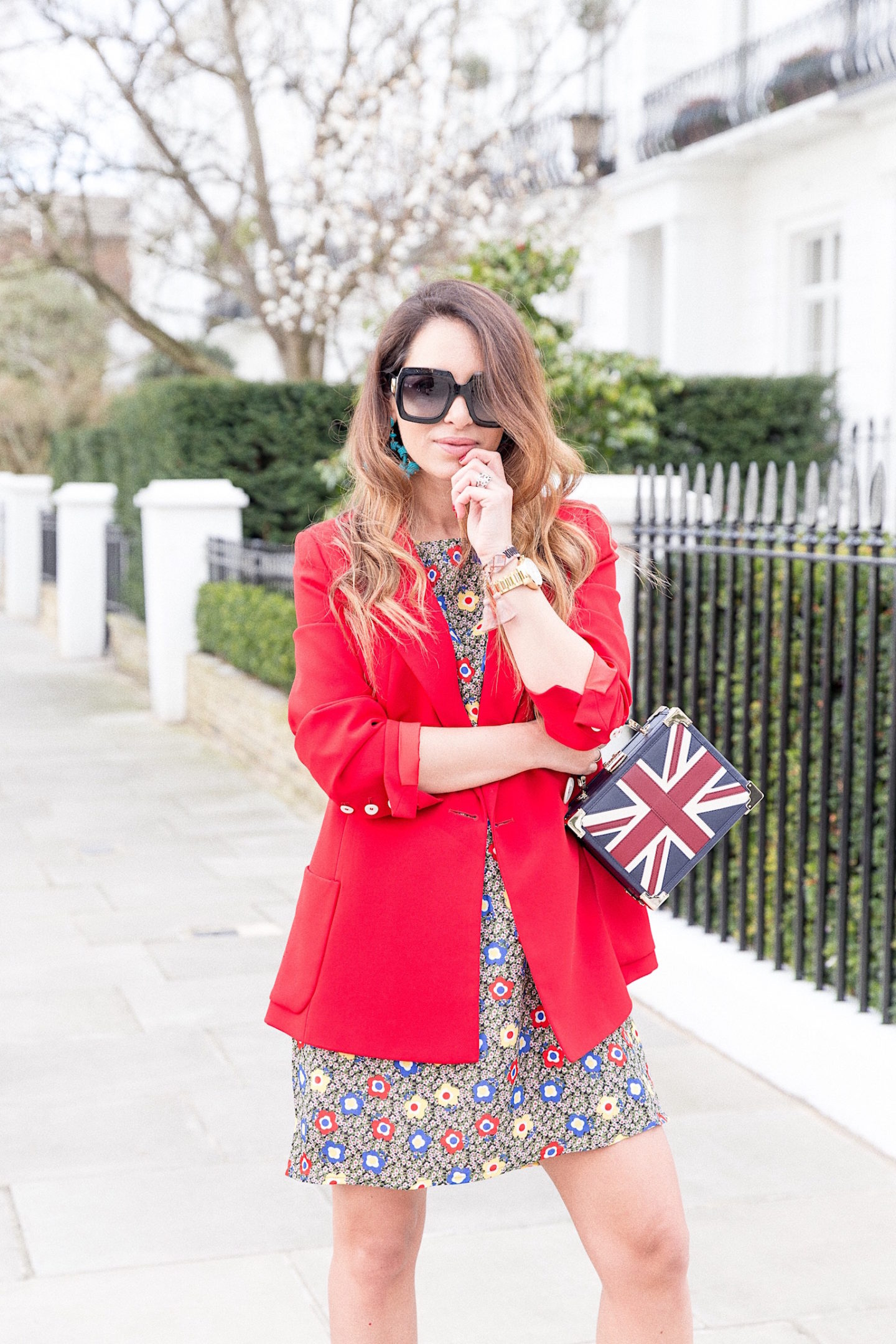 zara street style spring season london