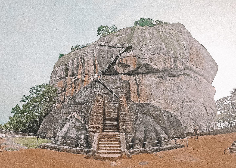 Roca de Sigiriya sri lanka