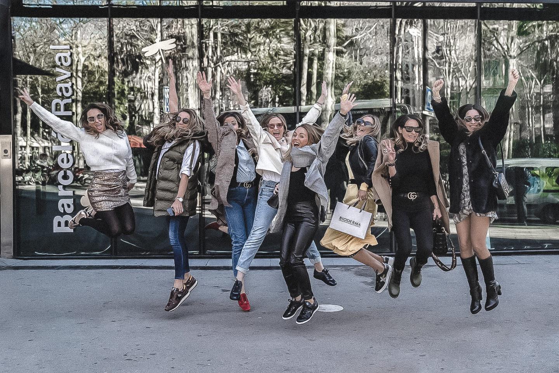 Cosmetik trip Barcelona + VIDEO influencer moda y belleza viaje