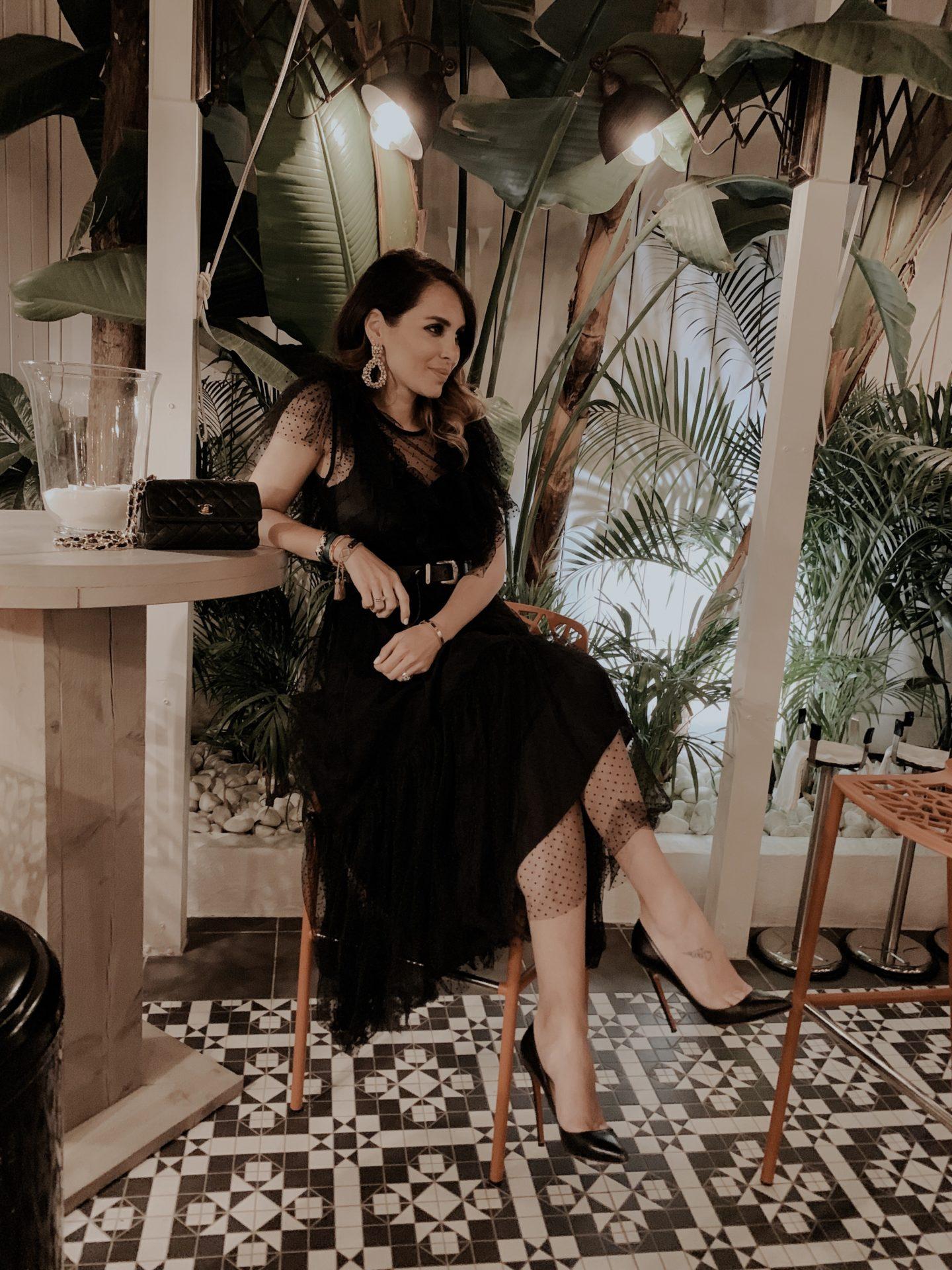 guapa y con estilo shop vestido negro