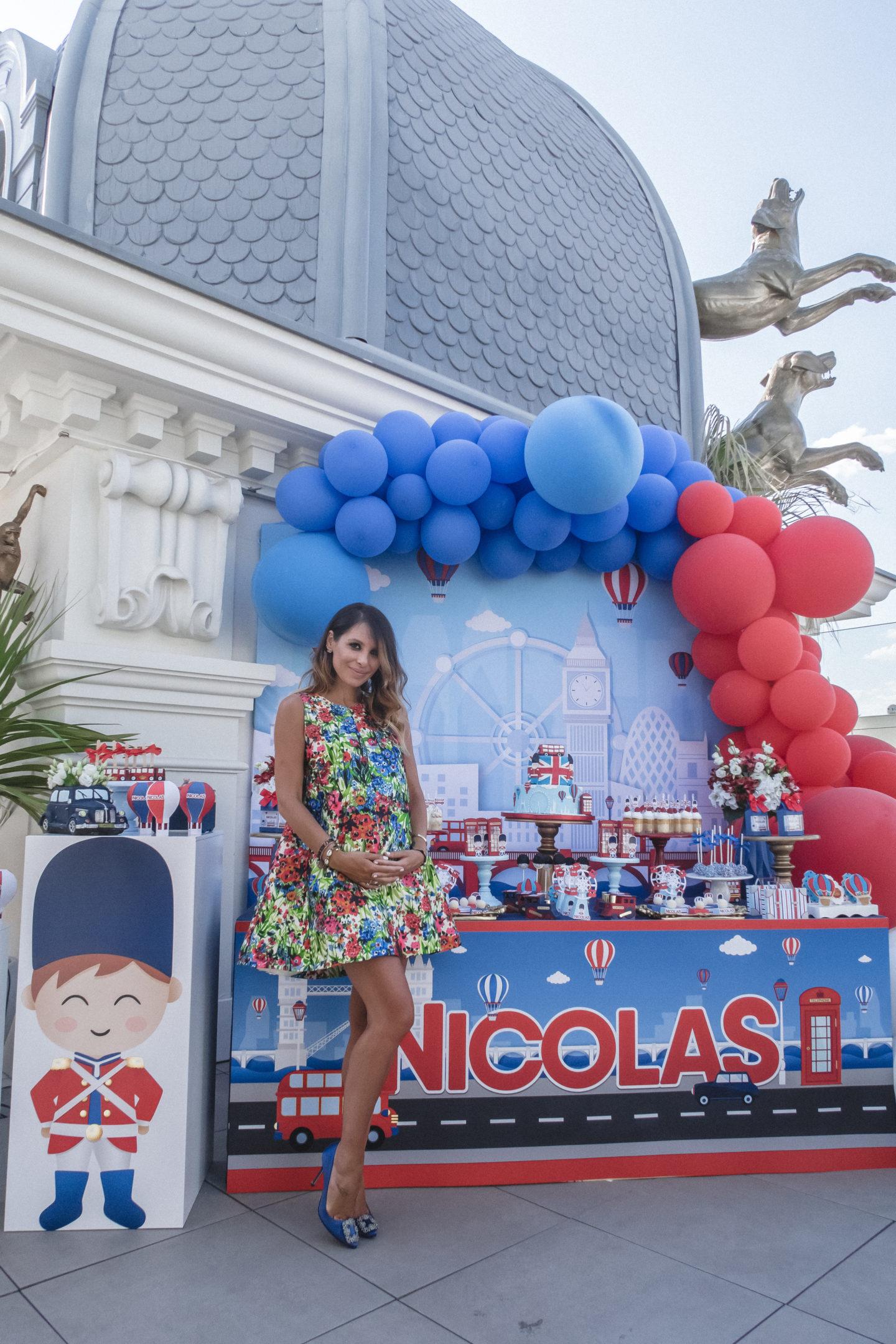 Nicolas British baby shower